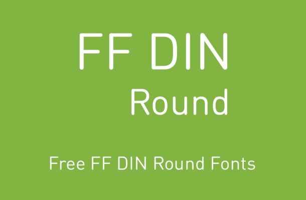 FF DIN Round Free Alternatives