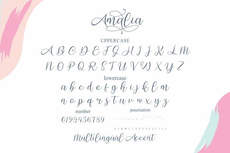 Amalia Modern Calligraphy Font-3