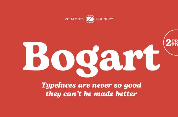Bogart Serif Typeface