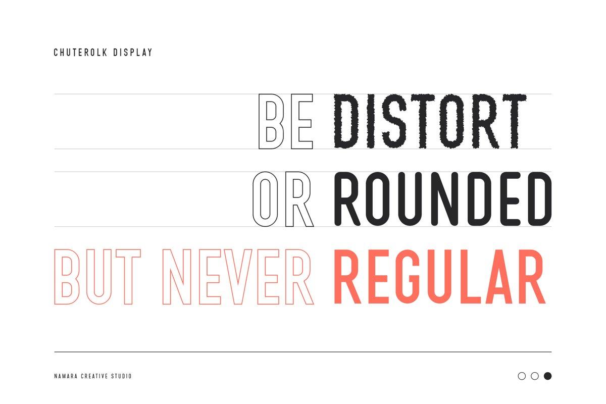 CHUTEROLK Sans Display Font-2