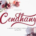 Cendhany Calligraphy Typeface