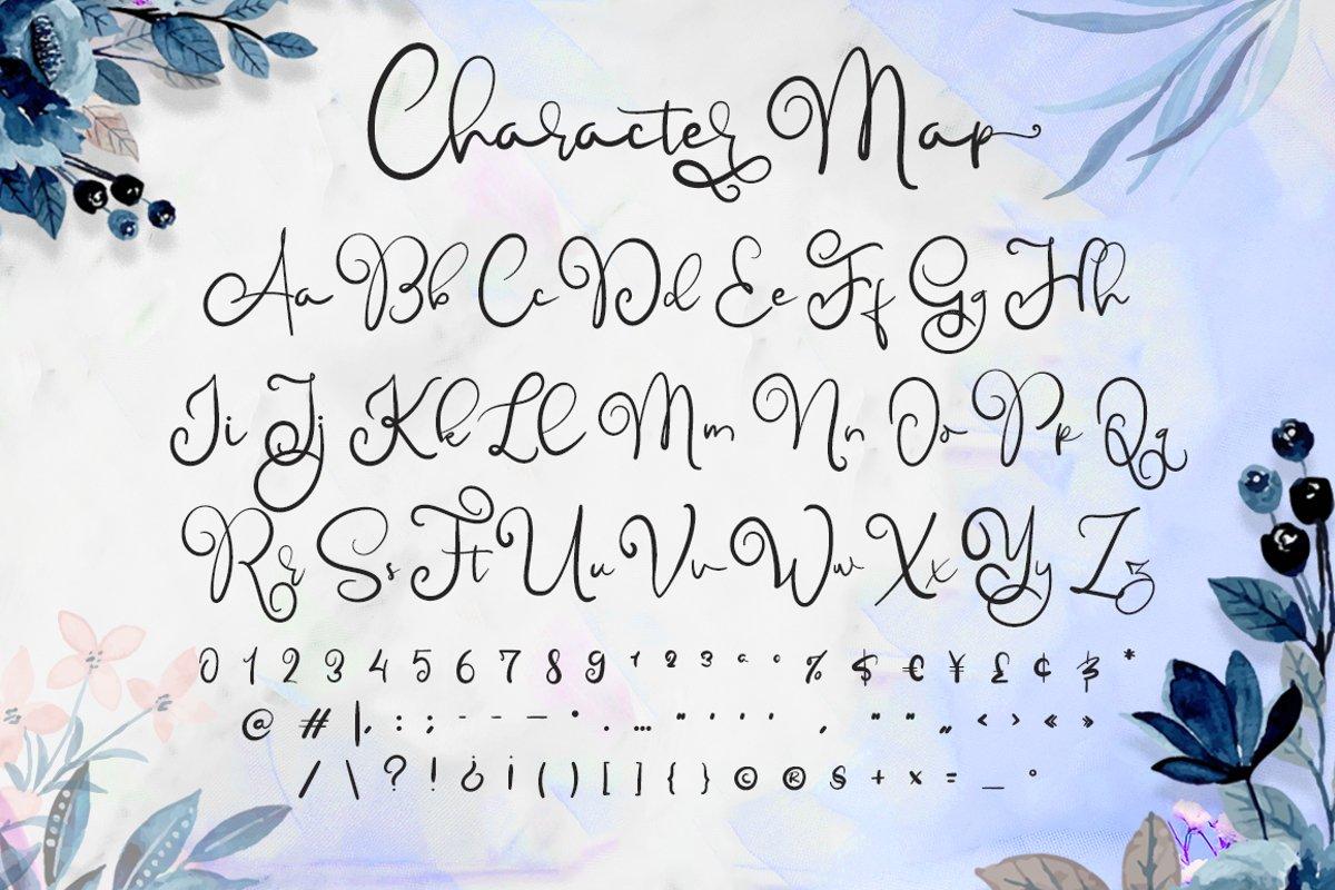 Childish Calligraphy Script Font-3