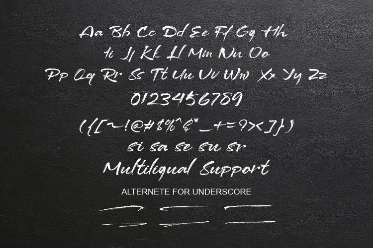 Dottaz Brush Script Font-3