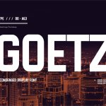 Goetz Condensed Display Font