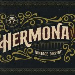 Hermona Vintage Display Font