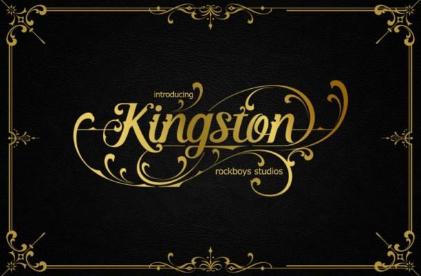 Kingston Blackletter Font-1