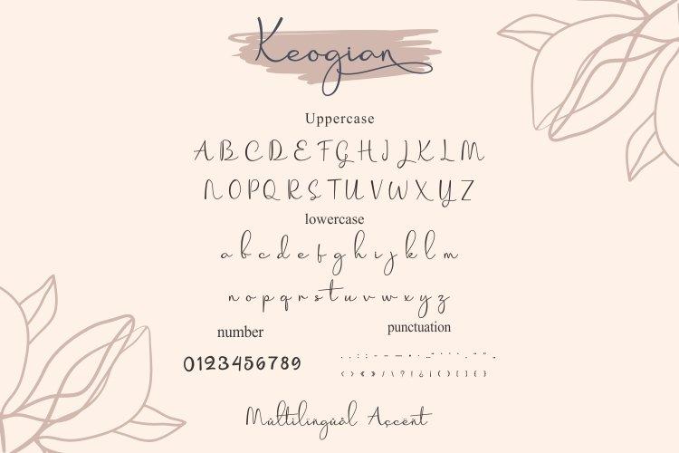 Korian Handwritten Script Font-3
