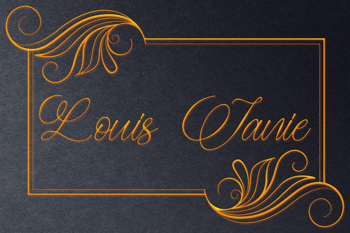 Meryliana Calligraphy Script Font-2