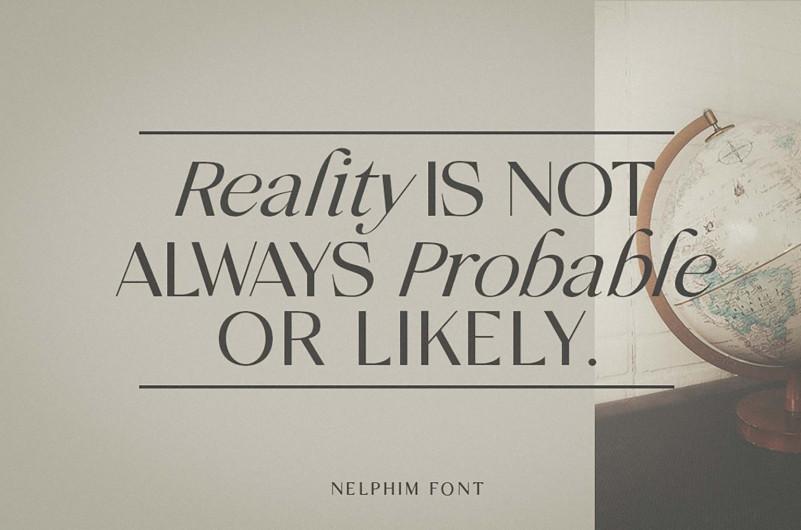 Nelphim Modern Sans Serif Font-2