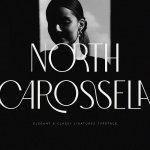 North Carossela Ligature Sans Typeface