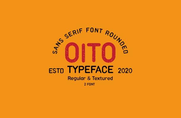Oito Sans Serif Font Family