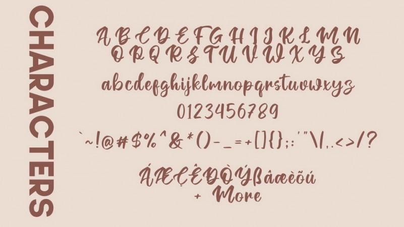 Ontel Bold Script Font-3
