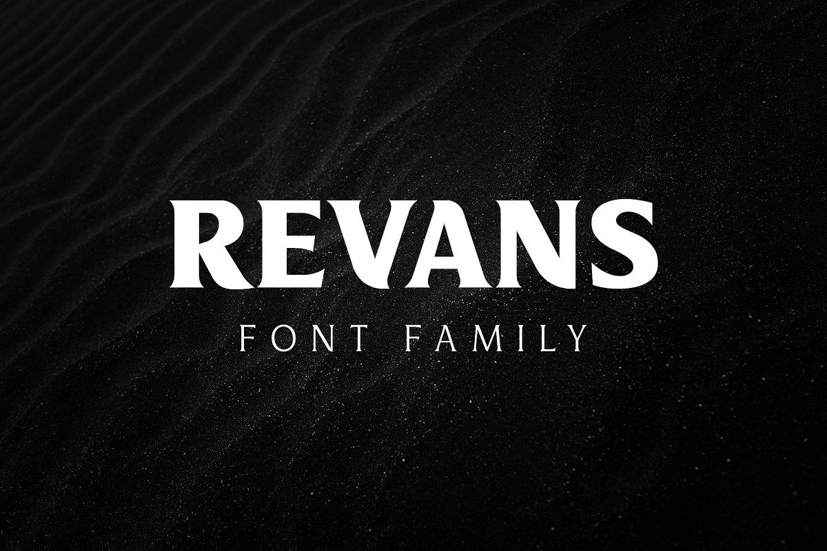 Revans Serif Font Family