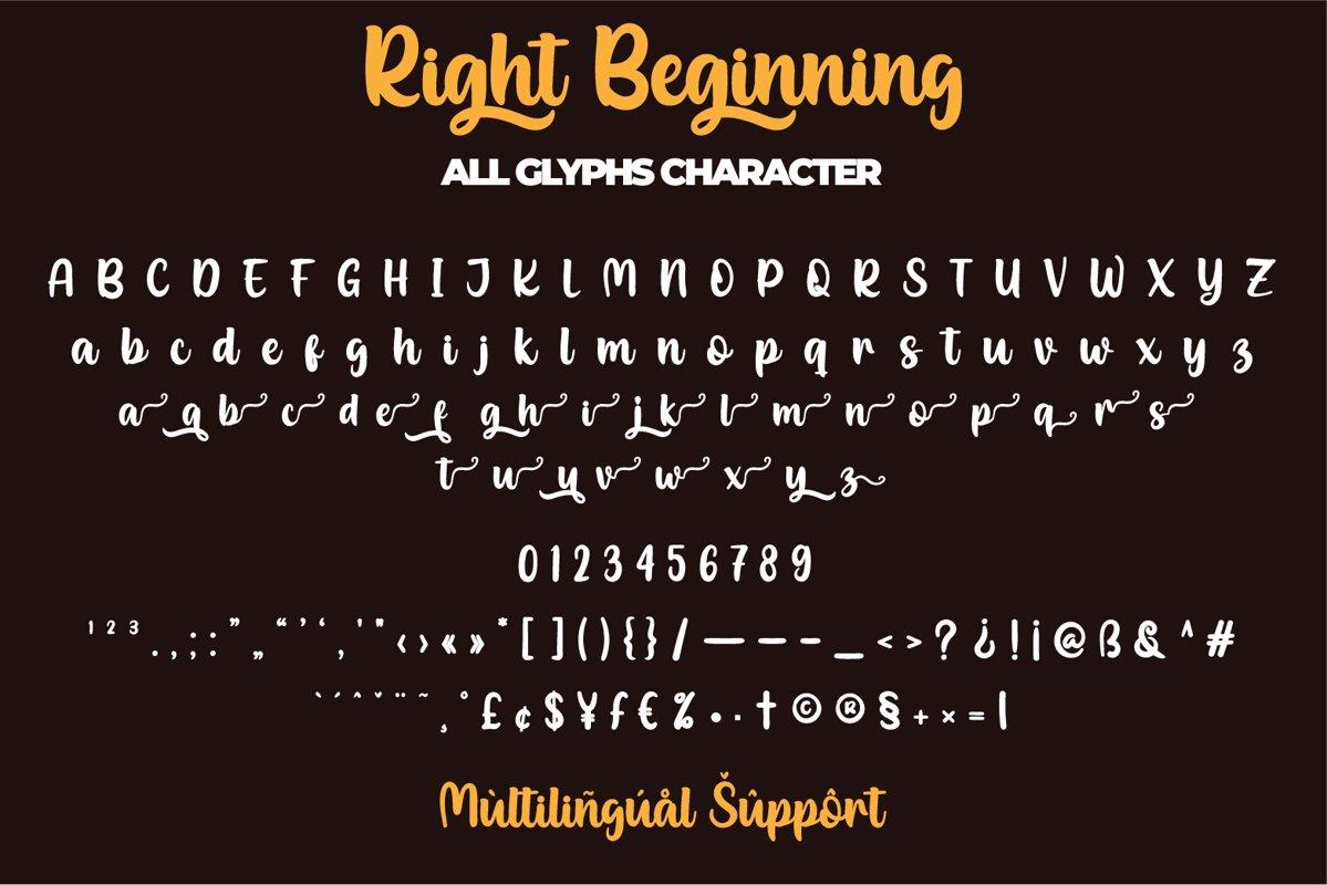 Right Beginning Bold Script Font-3