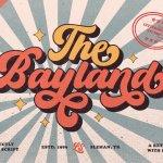 The Bayland Retro Script Font