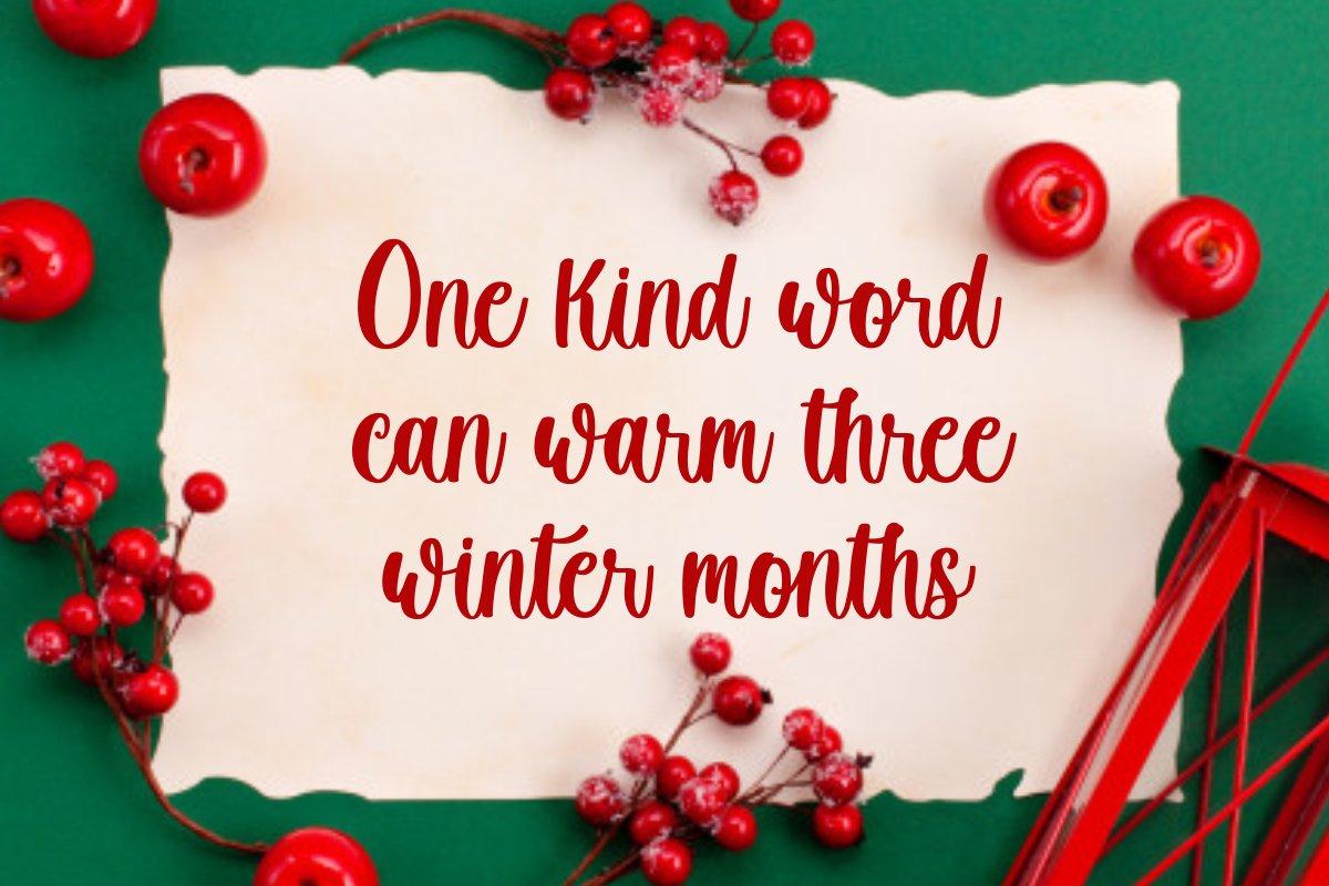 Winter Creative Handwritten Script Font-2