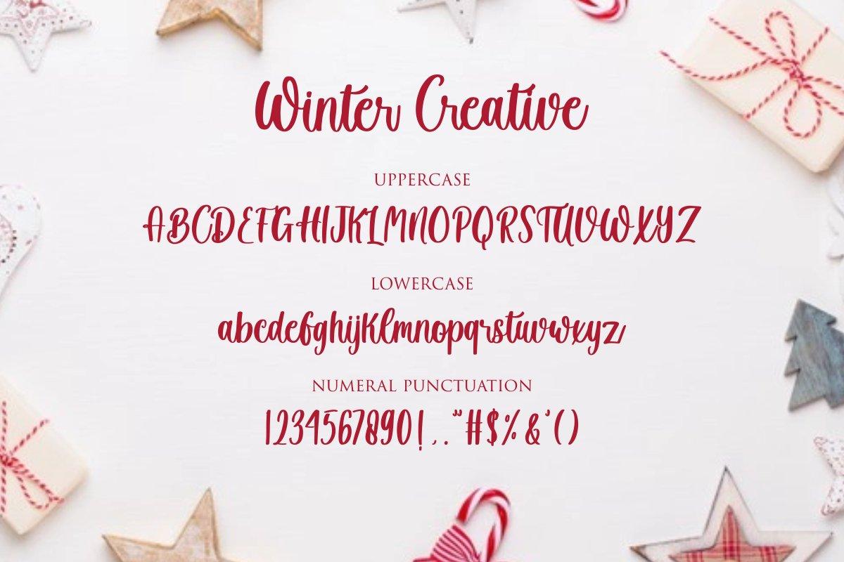 Winter Creative Handwritten Script Font-3