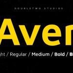 XXII Aven Sans Serif Font Family