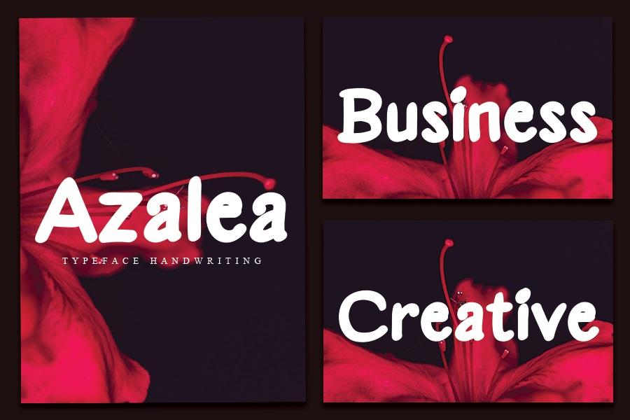 Azalea Font-2