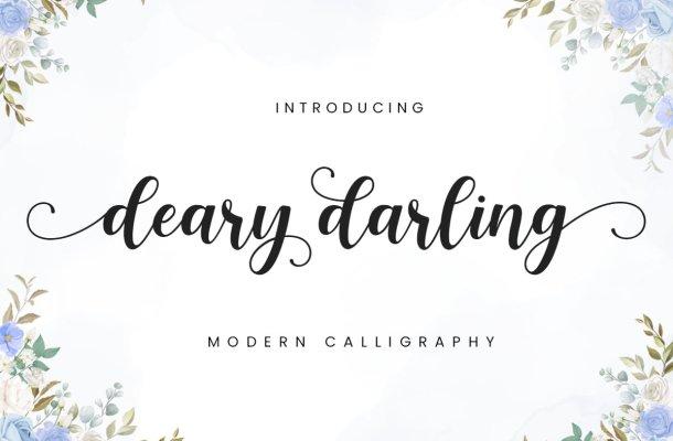Deary Darling Font