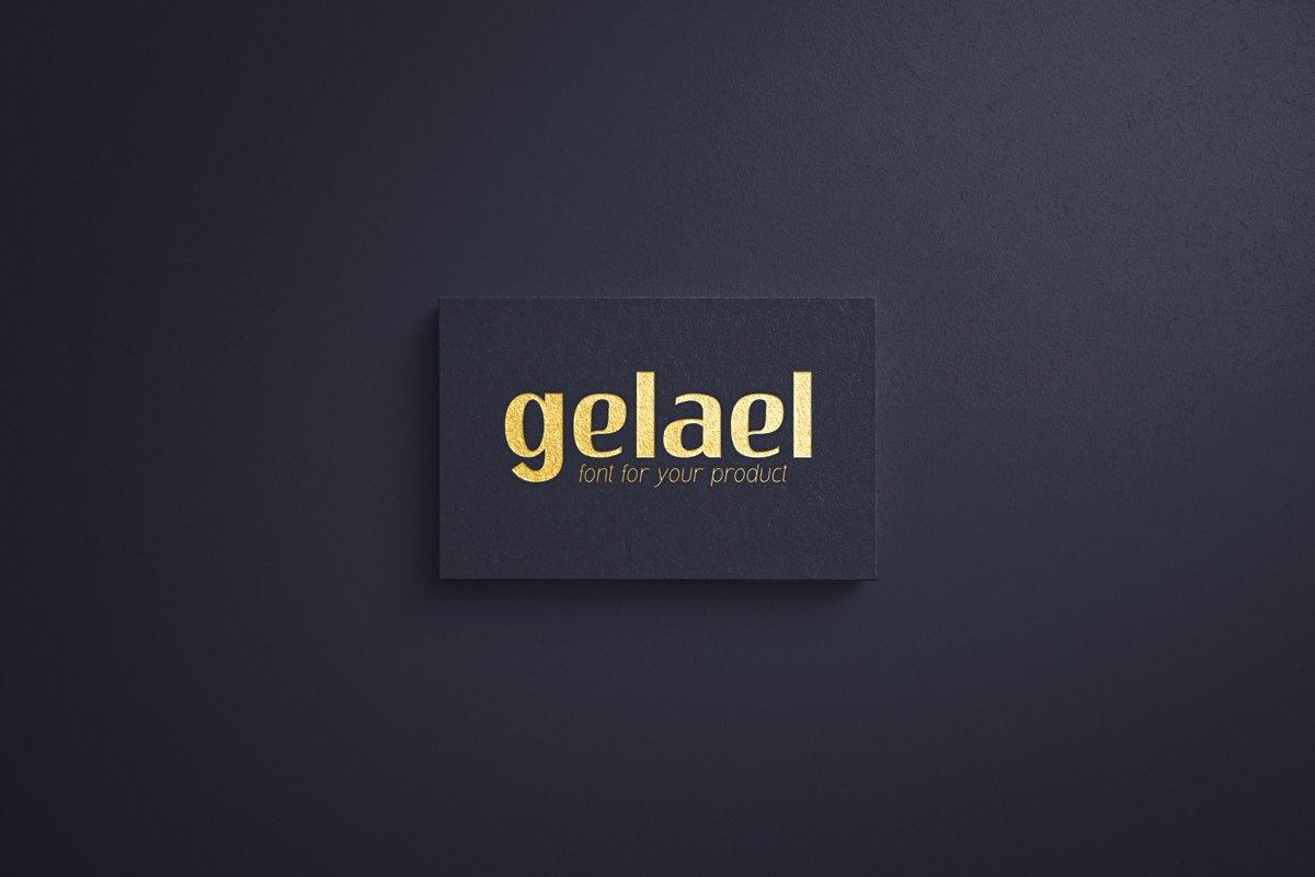 Gelael Font-2