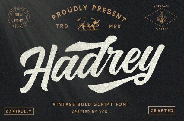 Hadrey Font