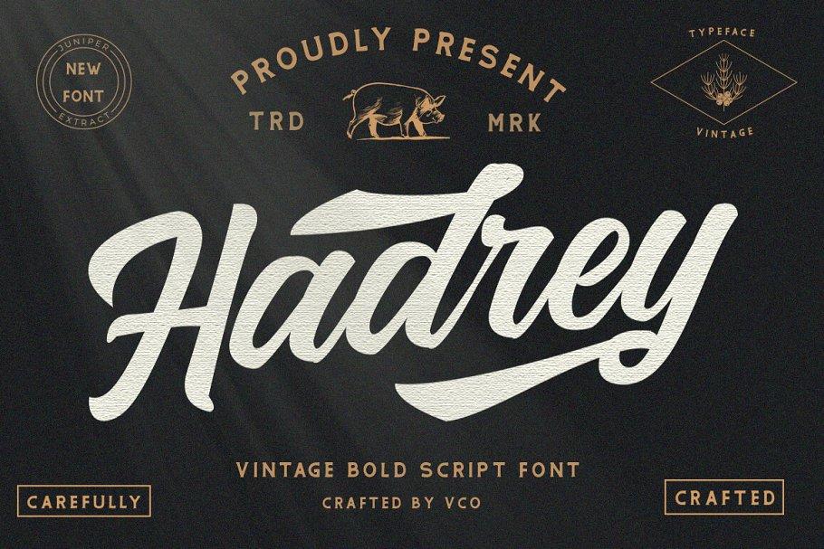 Hadrey Font-1