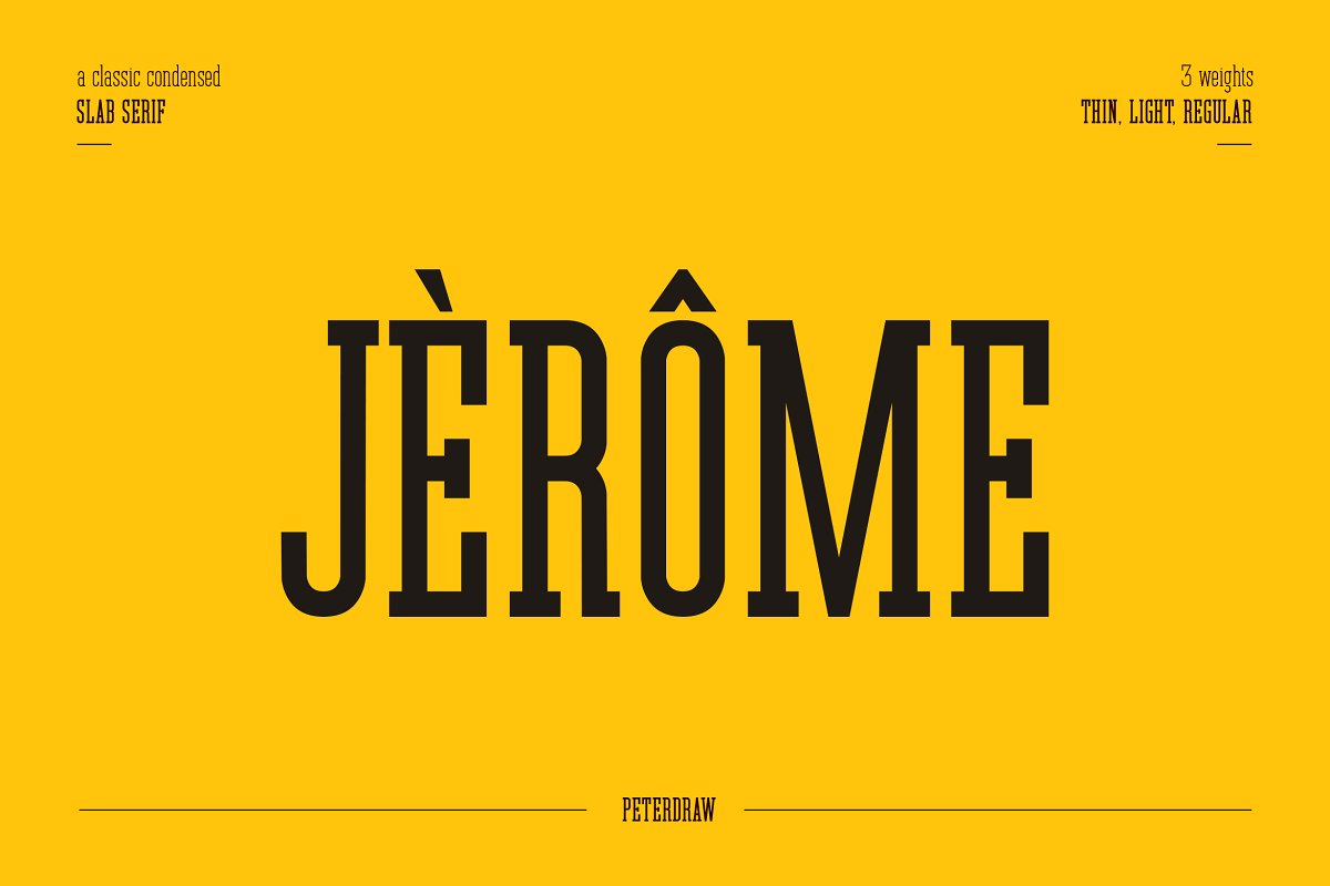 Jerome Typeface