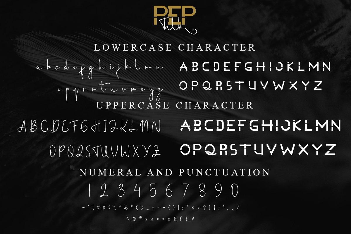 Pep Talk Font Duo-3