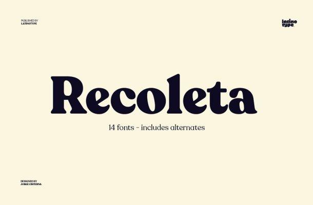 Recoleta Font-1