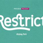 Restrict Font