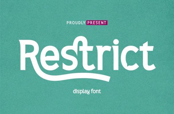 Restrict Font