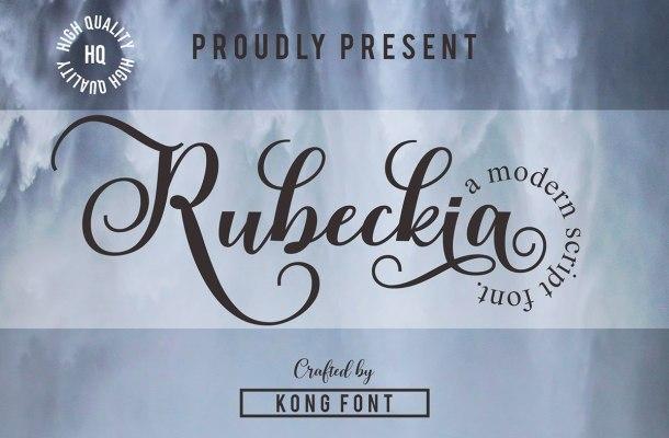 Rubeckia Font