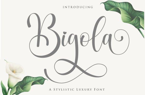 Bigola Font