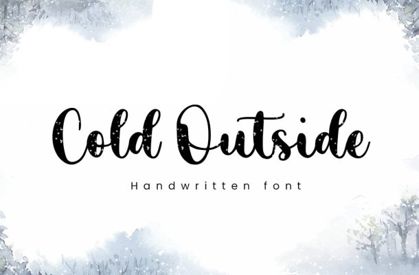 Cold Outside Font
