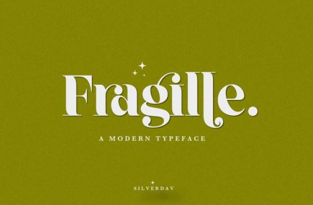 Fragille Typeface