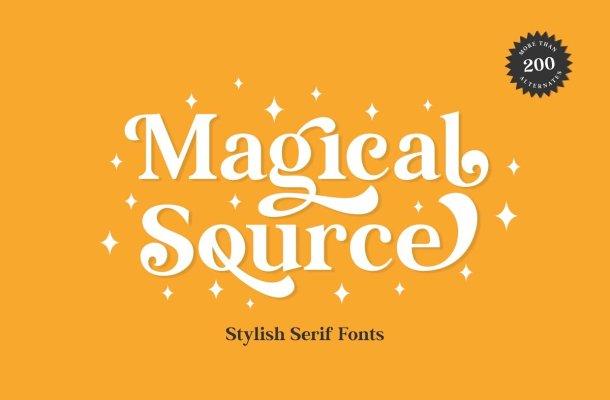 Magical Source Font