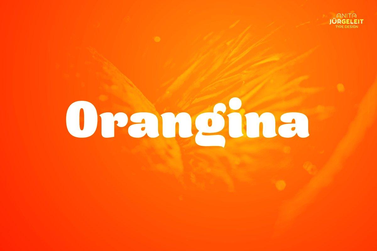 Orangina Font-1