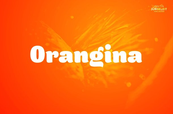 Orangina Font
