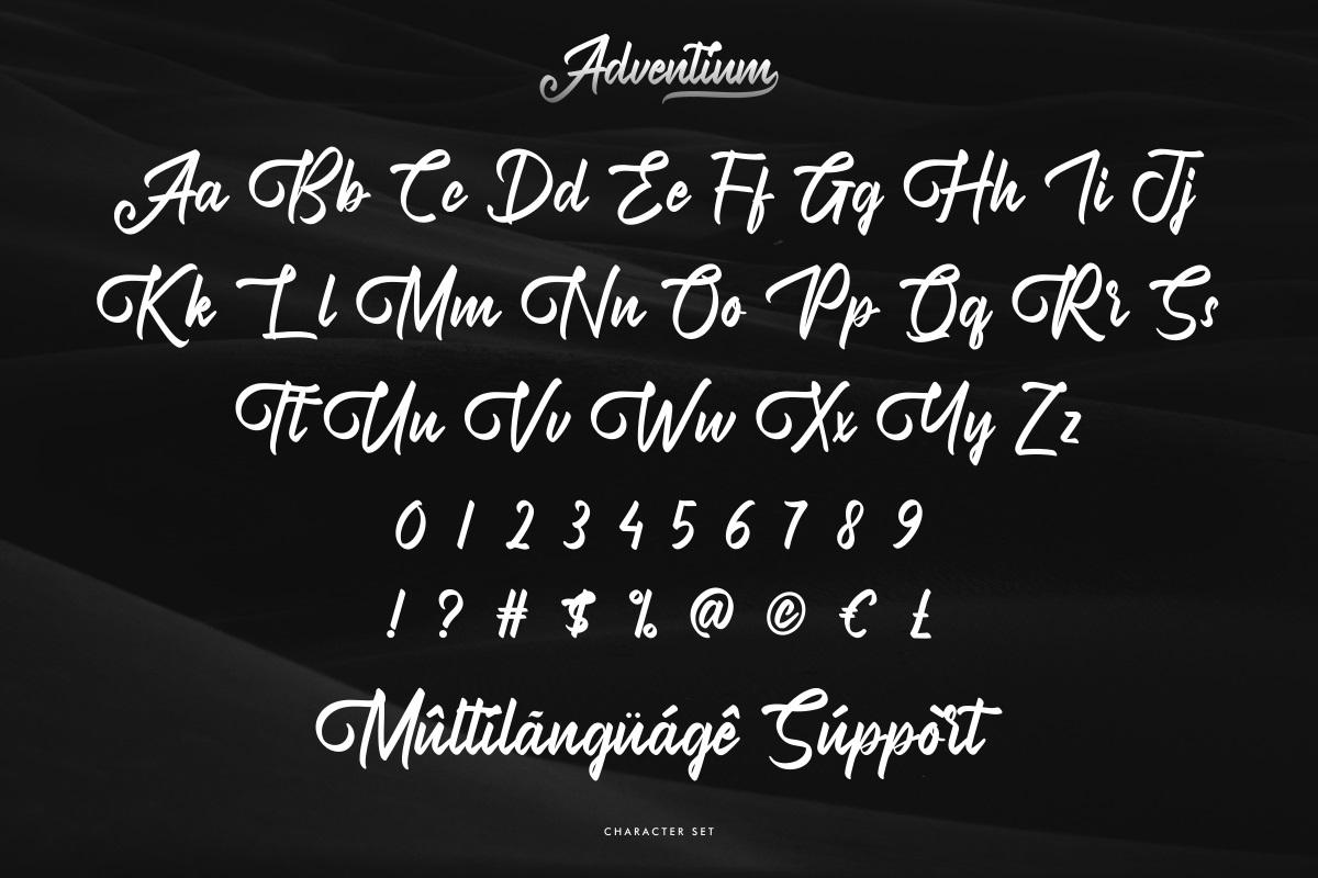 Adventium Font-3