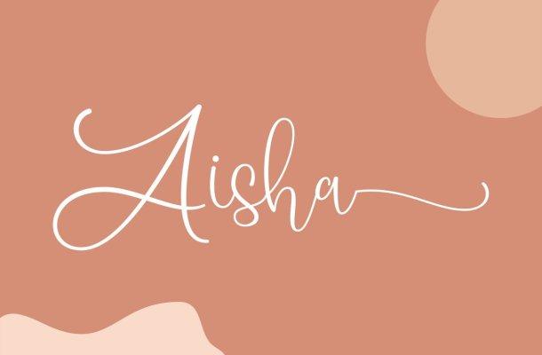Aisha Font