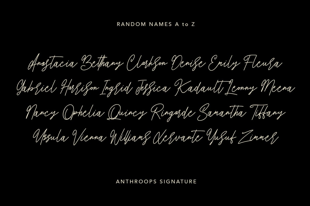 Anthroops Font-2