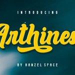 Arthines Font