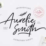 Aurelie Smith Font