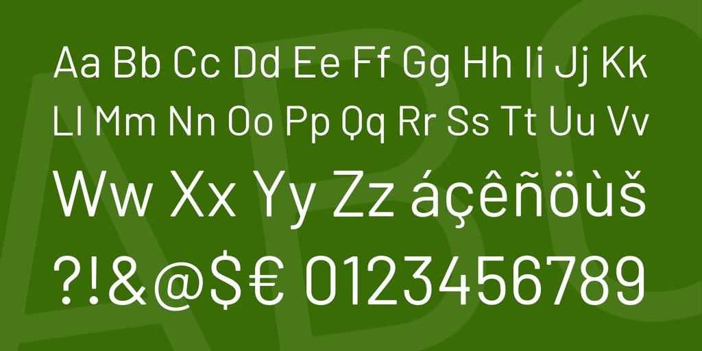 Barlow Font-4