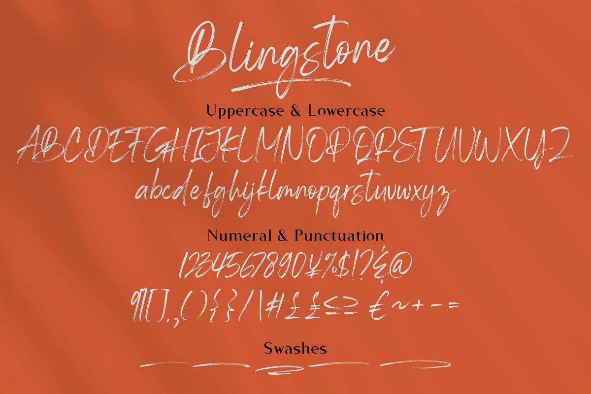 Blingstone Font-3