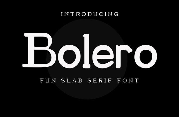 Bolero Font