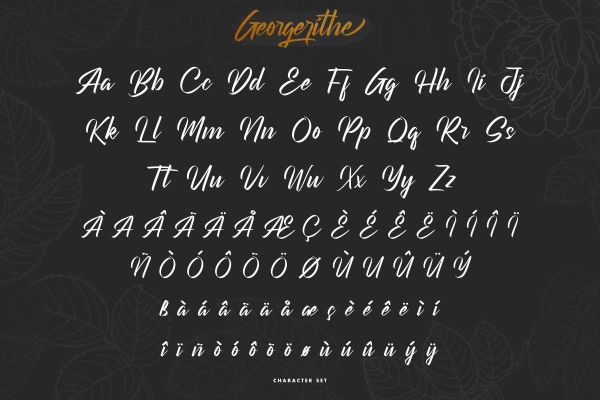 Georgerithe Font-3