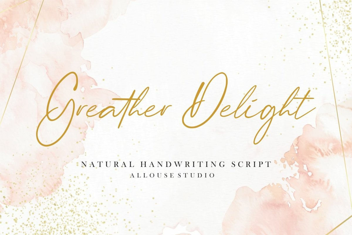 Greather Delight Font