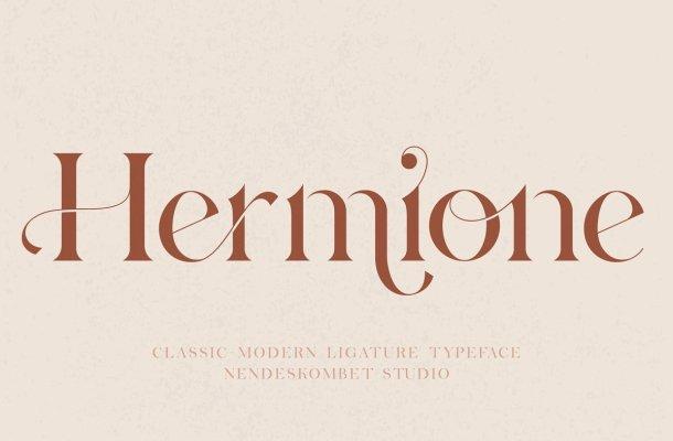 Hermione Typeface